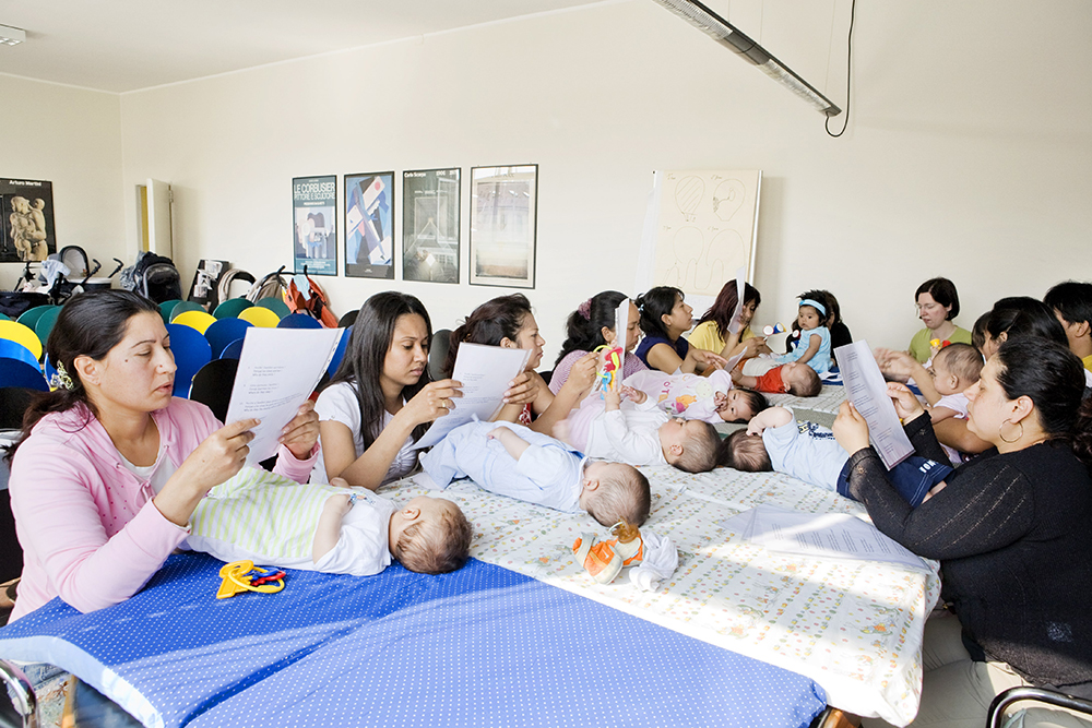 Gruppo Bebé, Consultorio Centro Aiuto alla Vita Mangiagalli, 15 maggio 2008.