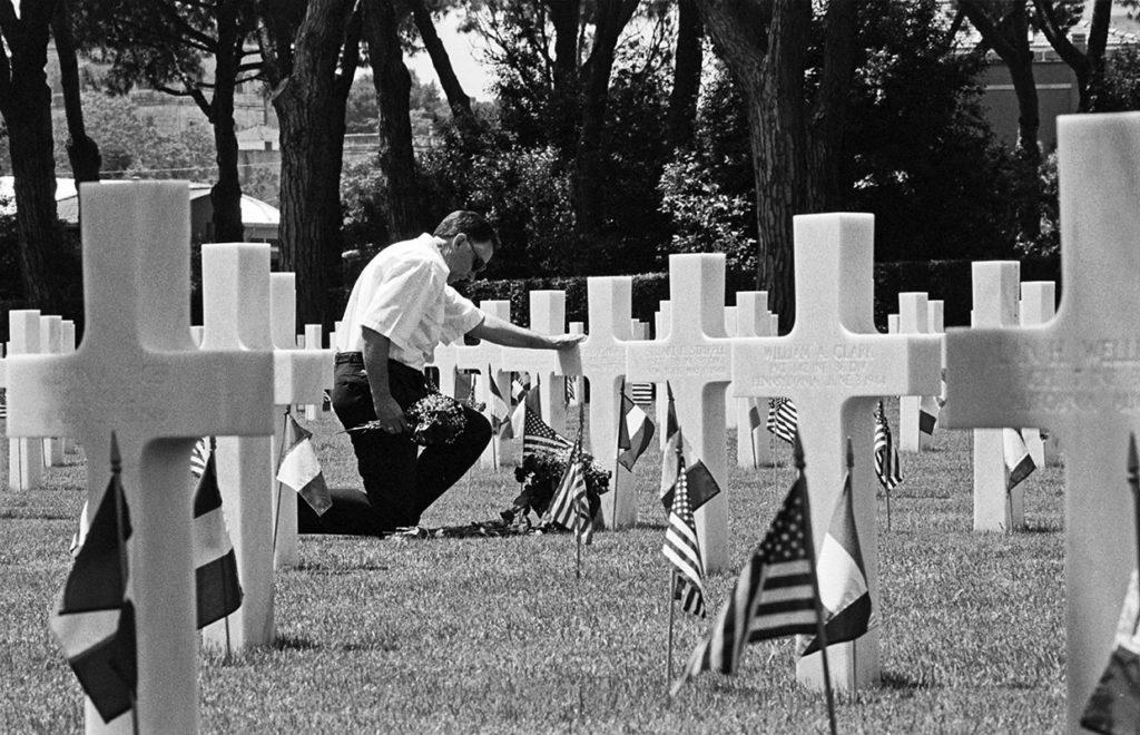 Ci resta il nome, Nettuno, American War cemetery