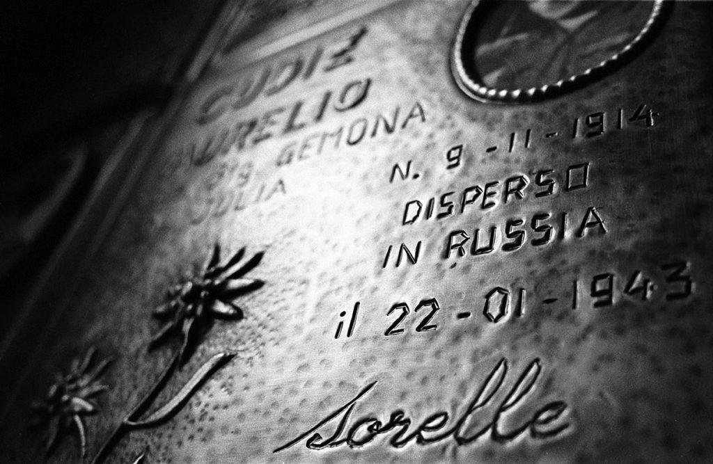 Ci resta il nome_Cargnacco, Sacrario dei caduti in Russia